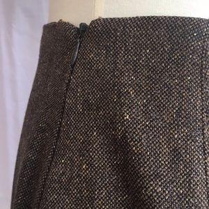 Rena Lange Skirts - Rena Lange Brown Tweed Skirt